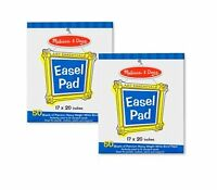 Melissa And Doug Easel Pad Bundle 50 Sheets 2-pack , New, Free Shipping on sale