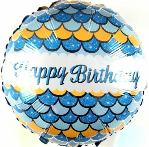 R24F10 Jubiläum Helium Folienballons Kinder Geburtstags Feier Baby Blau balloon