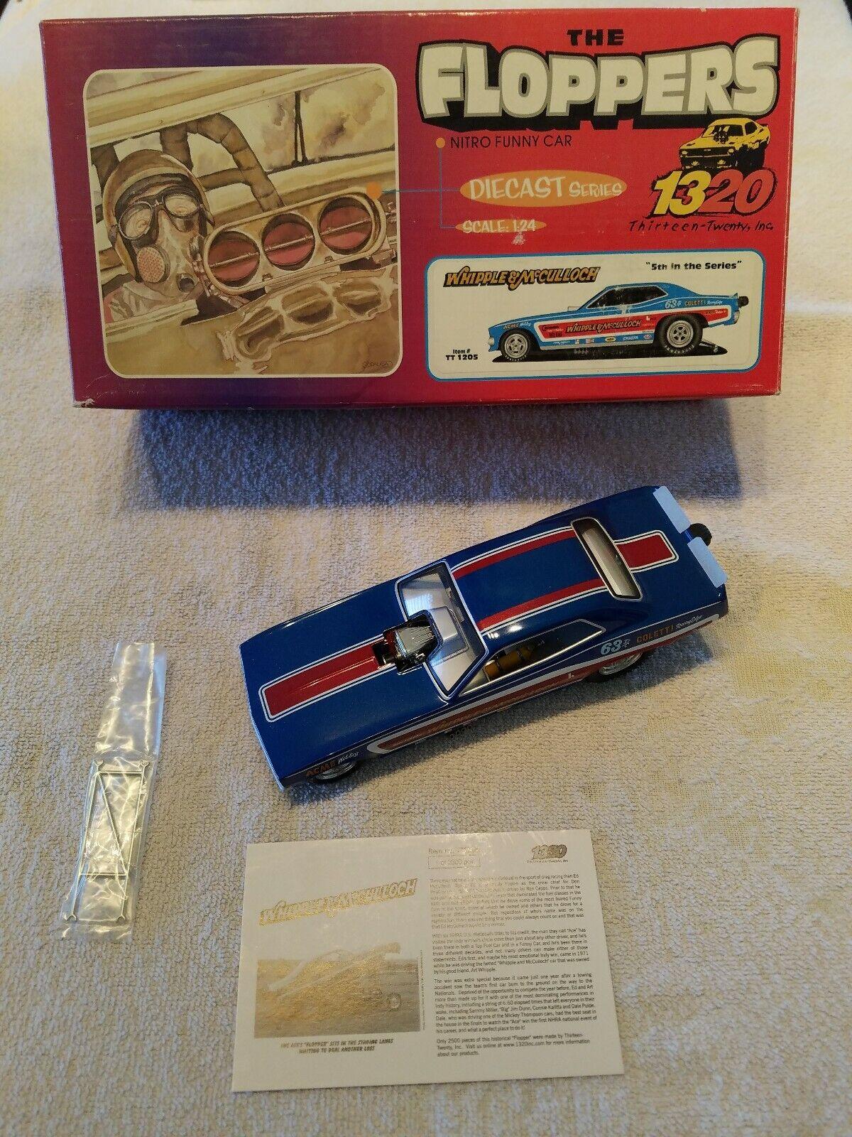 Whipple & McCullough 1971 Plymouth Cuda 1 24 Funny Car (Ed McCullough) Limited