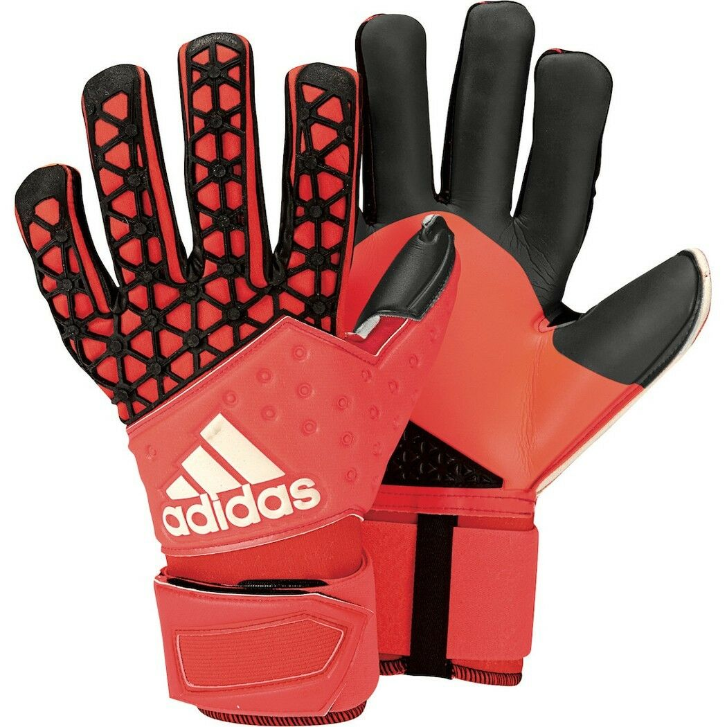 Adidas ACE Zones Pro Torwarthandschuhe Orange rot schwarz