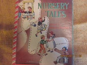 1950 Nursery Tails Book by Marjorie Barrows in Excellent+ Condition