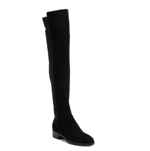 23894d00e674 Tory Burch Caitlin Stretch Over The Knee Black Tall OTK BOOTS Size 7 ...