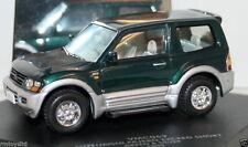 VITESSE 1/43 - VMC069 MITSUBISHI PAJERO EXCEED SHORT GREEN & SILVER 2000
