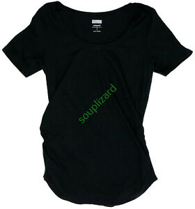 New Old Navy Maternity Solid V-Neck Tie Back Black Top Women/'s NWOT Size Medium