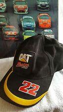 NASCAR CATAPILLAR #22 RACING CAP