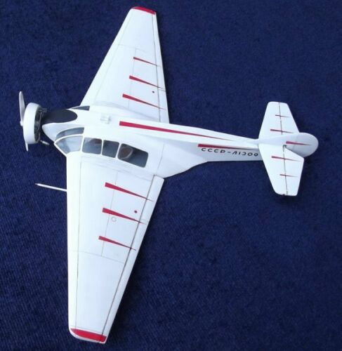 NIAI-1 Fanera-2 Soviet light passenger aircraft 1//72 MICRO-MIR 72-004