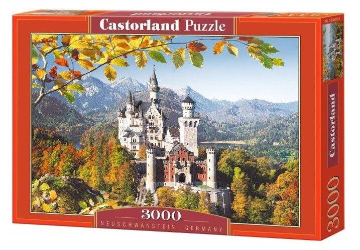 Castorland puzzle 3000 - neuschwanstein - deutschland