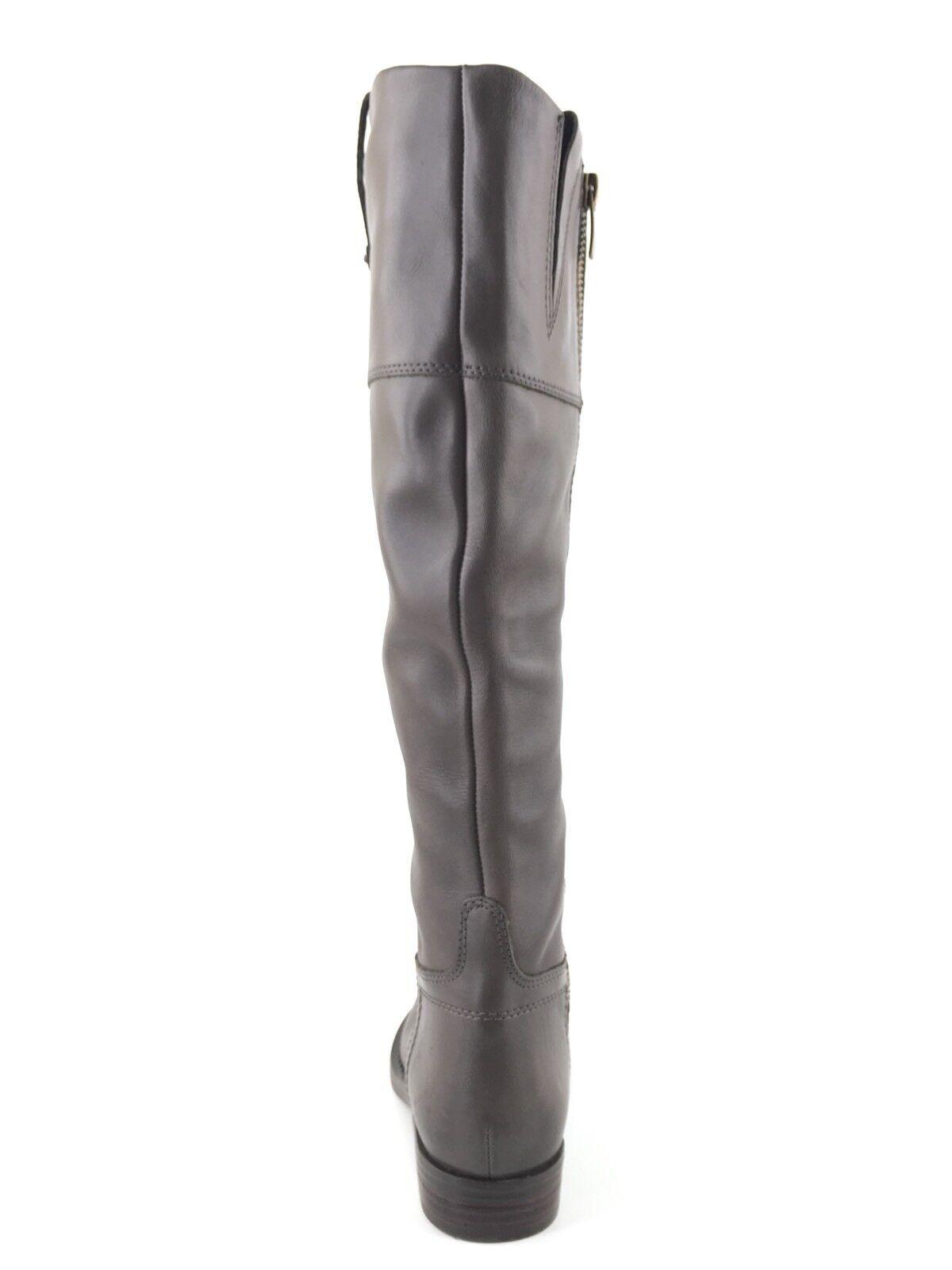 Enzo Angiolini Angiolini Angiolini Ellerby Gray Knee High Riding Stiefel Damens's Größe 4.5 M  02126a