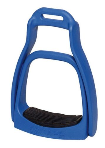 Sicherheitsbügel SmartRider Escape heavy 80-110 kg Westernsteigbügel blau L12