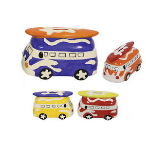 CERAMIC-SURF-BUS-MONEY-BOX-COLOUR-CHOICE-BLUE-RED-YELLOWOR-ORANGE-piggybank