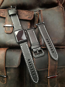 Quality Black Leather Watch Strap Band For Apple Watch 42mm Series 1 2 Black Fix - <span itemprop=availableAtOrFrom>luton bedfordshire, Bedfordshire, United Kingdom</span> - Returns accepted Most purchases from business sellers are protected by the Consumer Contract Regulations 2013 which give you the right to cancel the purchase with - luton bedfordshire, Bedfordshire, United Kingdom