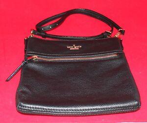 Image Is Loading Kate Spade Cobble Hill Ellen Crossbody Bag Black
