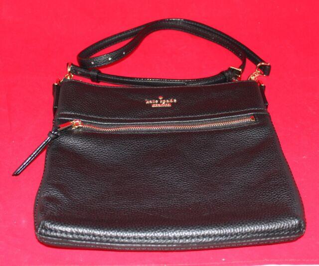 Kate Spade Cobble Hill Ellen Crossbody Bag Black
