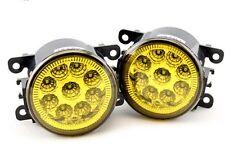Yellow LED Driving Light Fog Light Lamp Assy Bulb For Citroen Elysee C2 Sega