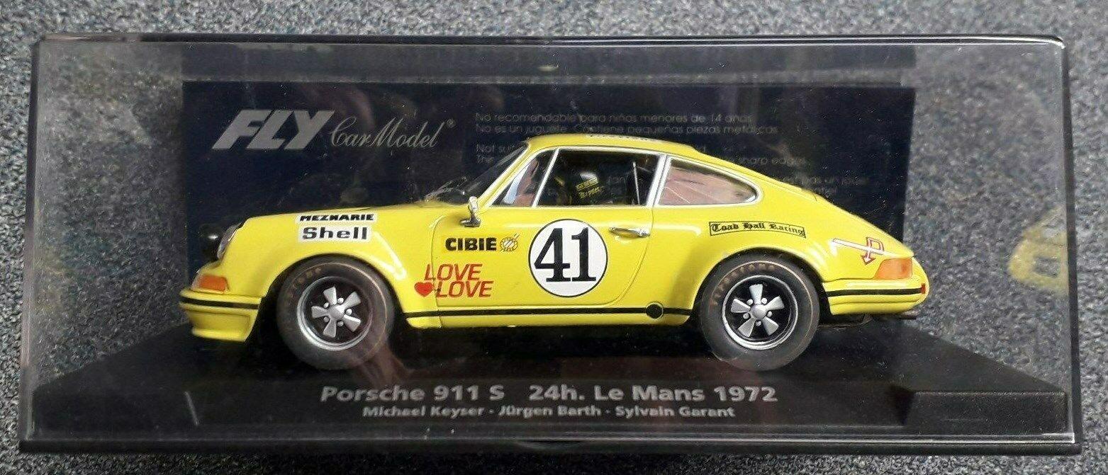 Fly 88129-PORSCHE 911 S-Le Mans 1972 JURGEN BARTH-échelle 1 32 - Neuf