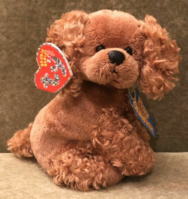 """TY FROLICS THE 2.0 BEANIE COCKER SPANIEL 5.5"""" TALL - UNUSED CODE - 2008 Mint Tag"""