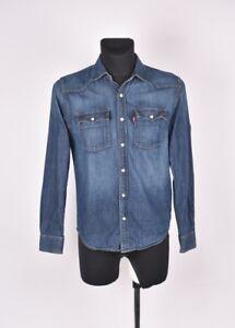 Levis-Jean-Jeans-Hommes-Chemise-TAILLE-S-PETIT