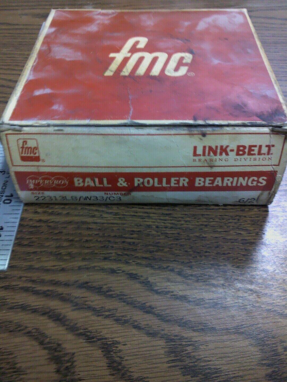LINK BELT BEARING BALL AND ROLLER BEARING 22313LBW33 C3