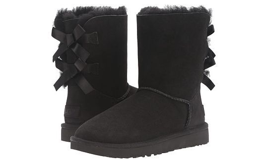 e7df937039d UGG Bailey Bow II Black Boot Women's sizes 5-11/36-42 NEW!!!