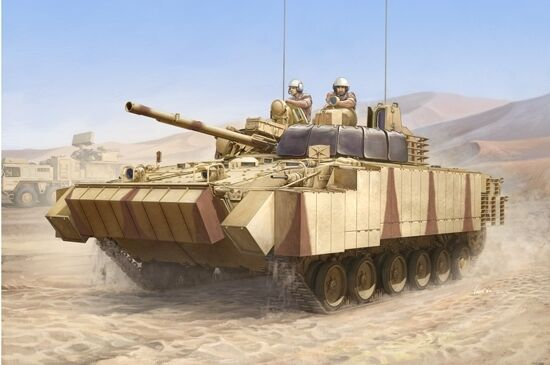 BMP-3 UAE With Era Titles And Combined Screen Tank 1 35 Plastic Model Kit
