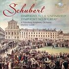 "Schubert: Symphonies Nos. 8 ""Unfinished"" & 9 ""Great"" (CD, Aug-2011, Brilliant Classics)"