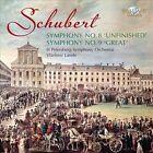 "Schubert: Symphonies Nos. 8 ""Unfinished"" & 9 ""Great"" (CD, Aug-2011, Brilliant Classics)"