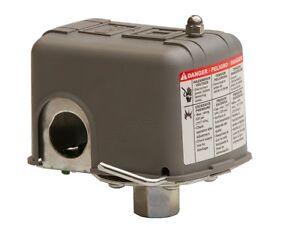 Pressostat Sécurité Manque d/'Eau 6 Bar SQUARE-D PUMPTROL Mono Pompe eau-9013FS