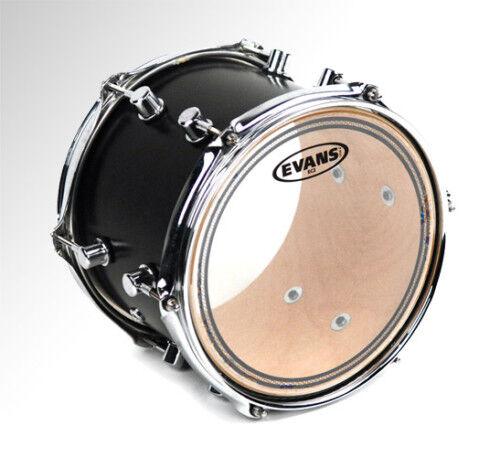 """Evans TT12EC2S 12/"""" Clear Tom Drum Head"""