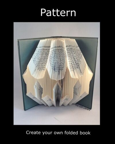 Stars Book folding PATTERNS to Create your own folded book art