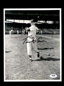 Tim-McCarver-PSA-DNA-Coa-Hand-Signed-8x10-Photo-Autograph