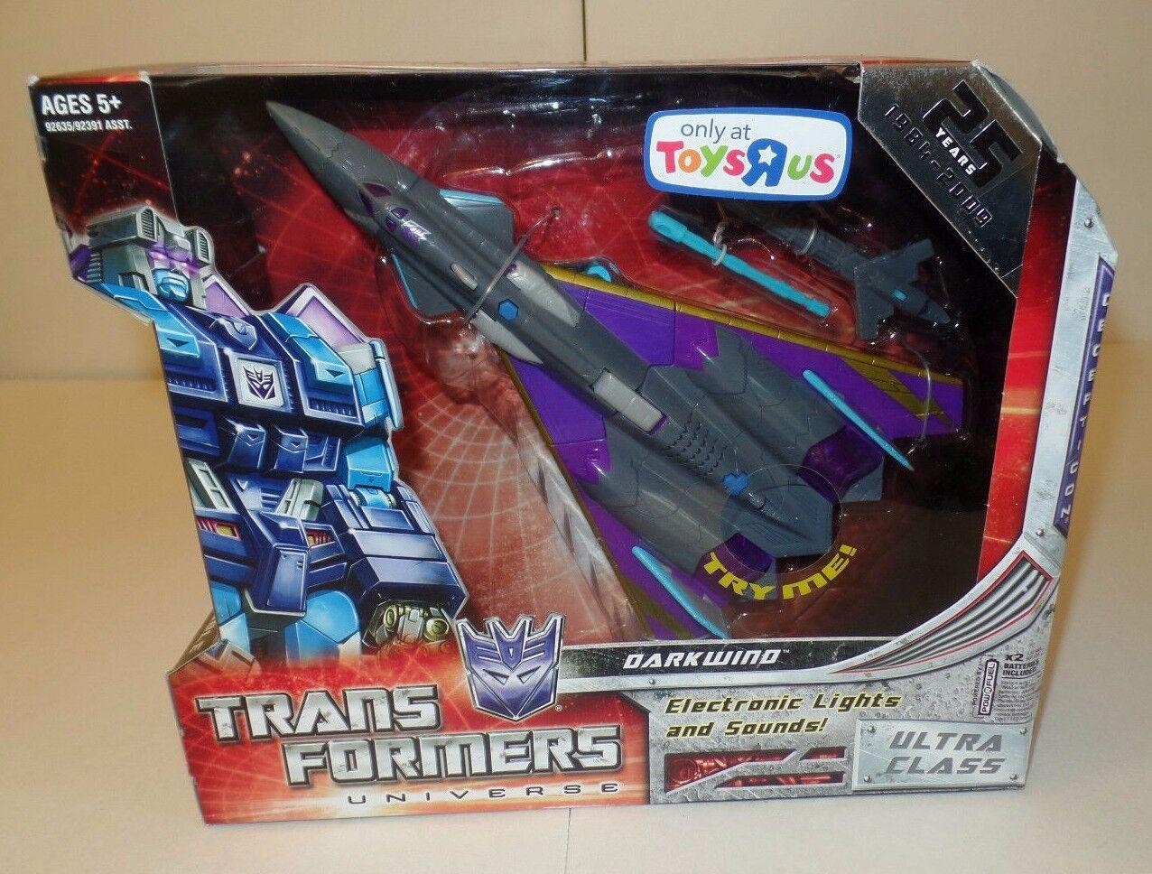 Darkwind Transformers Action Figure 2009 25th Anniversary ToysRUs Deceptacon