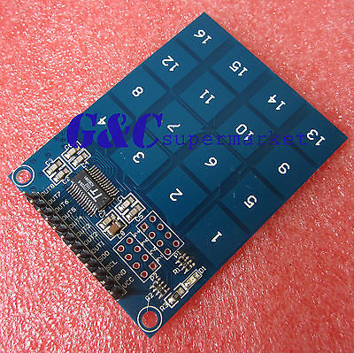 4x4 Keyboard TTP229 Digital Touch Sensor Capacitive Touch Switch Module