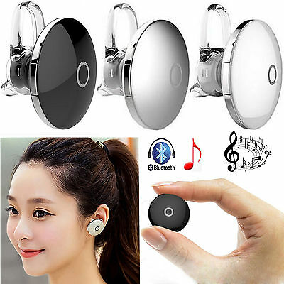 Mini Wireless Stereo Bluetooth Headset For Apple iPhone 6 6S 5S 5C 4S LG G4 ZTE