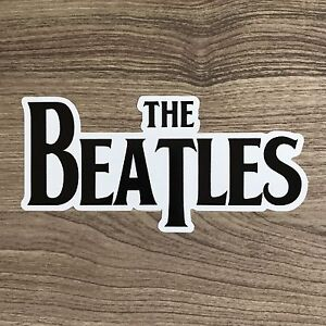 Image Is Loading The Beatles Logo 5 034 Wide Vinyl Sticker