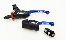 ASV F3 Blue Holiday Pro Pack Unbreakabl​e Clutch + Brake Levers CRF 450R 250R