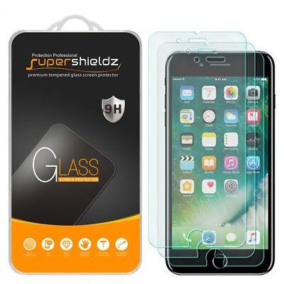 3X Supershieldz Apple iPhone 8 Plus Tempered Glass Screen Protector Saver