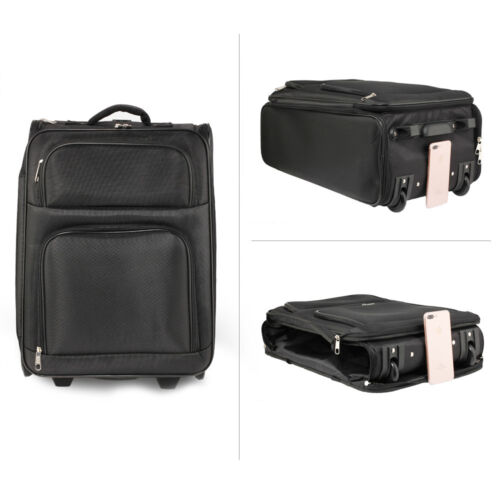 CABIN APPROVED TRAVEL Luggage Hand Bag Large Wheeled Trolley Holdall Handle