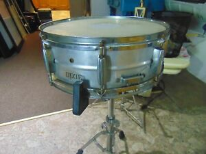 DIXIE-Snare-Drum-Vintage-1960s-Ludwig-throw-Ludwig-snares-ALMINUM-SHELL