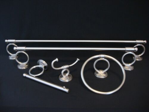No Package DELTA Brighton Bathroom Hardware /& Accessories Satin Nickel Finish