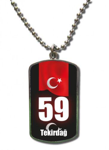 Cadena Dog Tag remolque turquía tekirdag 59 Türkiye Aenianos