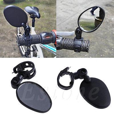 Universal Cycling Bike Bicycle Handlebar Rearview Mirror 360° Rotate Adjustable