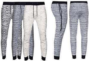 New-Mens-Slim-Fit-Tracksuit-Bottoms-Skinny-Jogging-Joggers-Sweat-Pants-Trousers