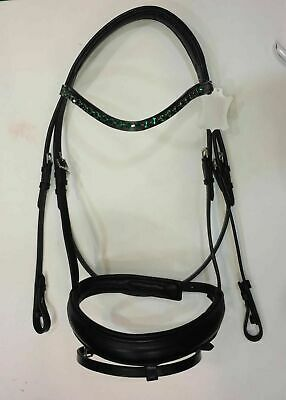Details about  /Anatomical English Bridle with Patent Nose band Adams.store