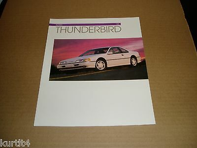 1993 Ford Thunderbird LX /& Super Coupe Dealer Sales Brochure