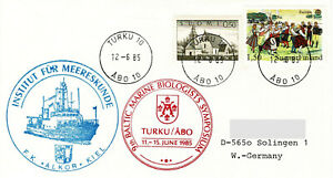 Polarpost FINNLAND: 9th BALTIC MARINE BIOLOGISTS SYMPOSIUM - 1985