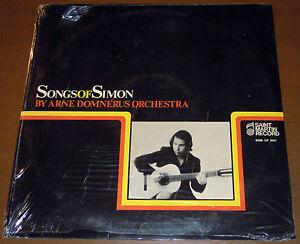 LP ARNE DOMNERUS Songs of Simon (Saint Martin 72 ITALY) folk jazz unique SEALED!