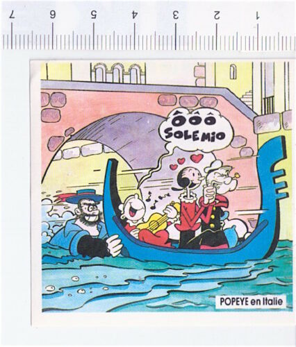 figurine a scelta BRACCIO DI FERRO 1989 Grosjean France stickers POPEYE