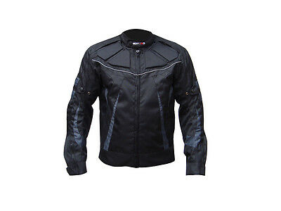 Billiger Preis Black Motorbike Men Waterproof Ce Protected Cordura Textile Jacket All Weather Starke Verpackung