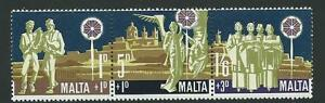 MALTA SG427/9 1969 CHRISTMAS MNH