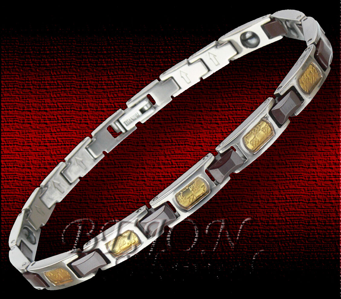Nuovo  Bracciale Titanio Bracciale    ceramica CARBONIO  20 5cm 6mm  tac-08 - B  33f2a2